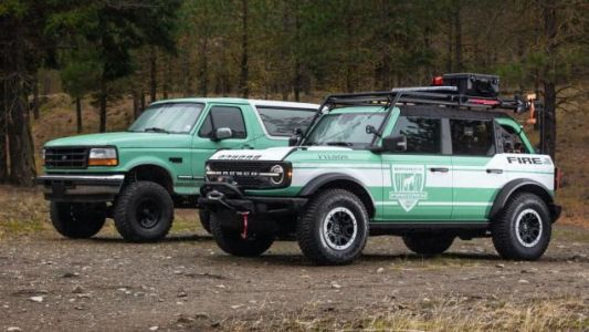 Ford Is Giving Away Two Awesome 2021 Ford Bronco Wildland Fire Rigs To First Responders