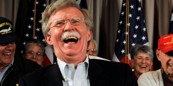 People are freaking out after John Bolton was picked to become Trump's national security adviser