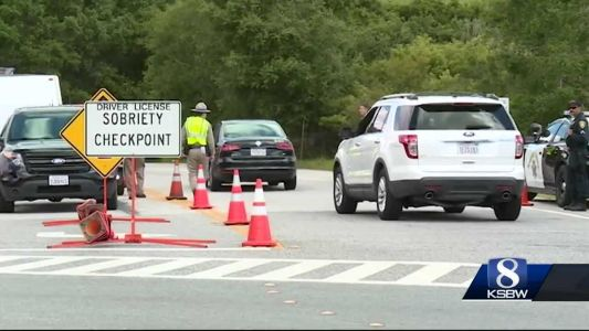 A DUI check point was set up in Santa Cruz, UCSC teamed up with CHP to conduct the check point