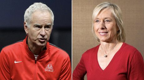Tennis legend Navratilova hits out at BBC after co-host McEnroe revealed to get 10 times more pay
