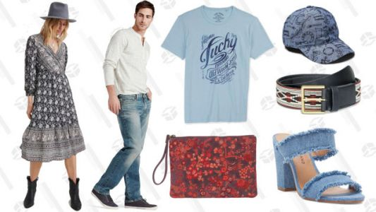 You Just Lucked Into Up to 75% Off Sale at Lucky Brand