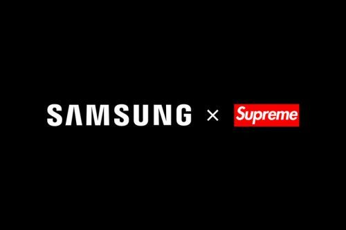 """Samsung Announces Collaboration With """"Supreme"""""""