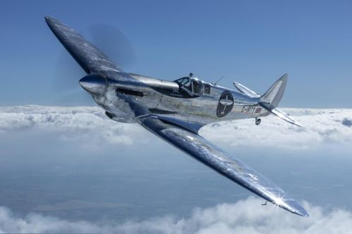 IWC Pilots Make Aviation History in a Silver Spitfire