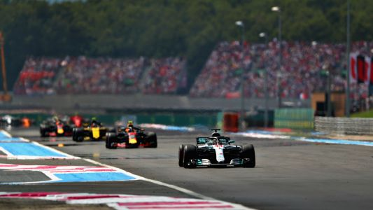 Lewis Hamilton cruises back to top of standings with France win