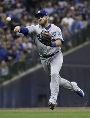Dodgers ace Kershaw available in 'pen vs Brewers in Game 7