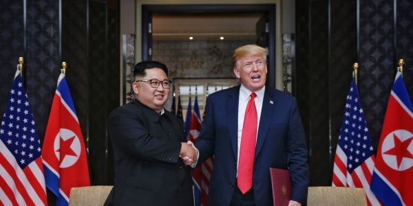 Trump's team divided with the president over 'frustratingly slow' progress with North Korea and his friendly demeanor toward Kim Jong Un