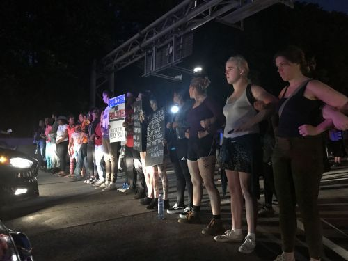 Protesters in Pittsburgh shut down main parkway following officer-involved fatal shooting of teen