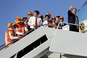 Little League champs fly home to Louisiana with president