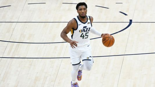 Donovan Mitchell injury update: Jazz star leaves game vs. Pacers with right ankle sprain