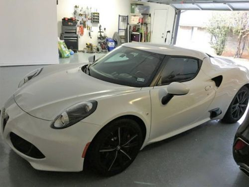 At $45,000, Could You Be Tempted By This 2015 Alfa Romeo 4C?