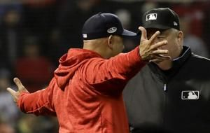 Red Sox manager Alex Cora ejected from Game 1 of ALCS