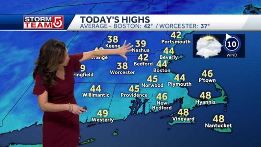 Video: Showers move in later today