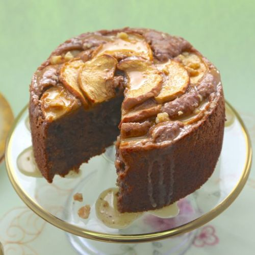 Gluten Free Vegan Apple Cake