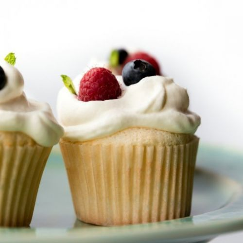 Light-as-air Angel Food Cupcakes