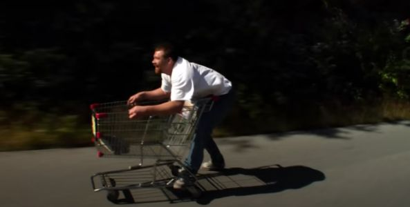 Carts of Darkness Turns Shopping Carts Into Extreme Sport Vehicles
