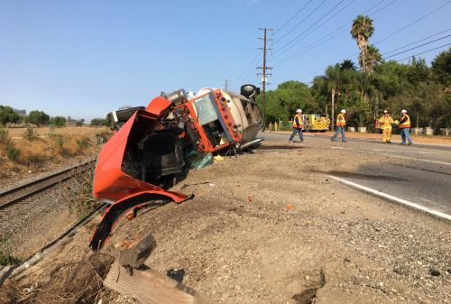 Tanker crash kills boy, injures 3 others in California