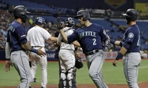 Murphy, Nola lead Mariners to 9-3 win over Rays