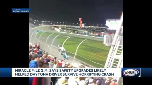 NASCAR driver Newman awake, speaking, officials say