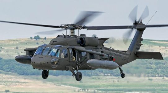 A coalition service member was killed after a special operations Black Hawk helicopter crashed in Iraq