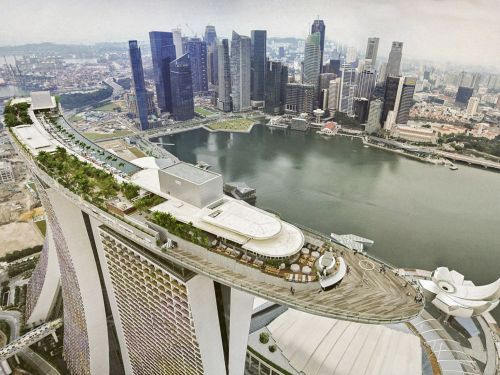 Singapore is building a 1,000-foot-long 'sidescraper' in the sky - and it may reveal a troubling trend