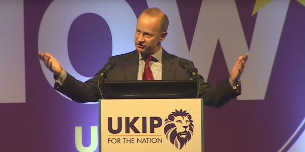 The leader of UKIP has dumped his 25-year-old girlfriend over racism and text messages 'too graphic to print'