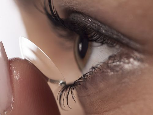 Doctors found a 28-year-old contact lens in a woman's eye