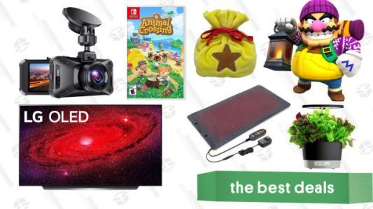 Tuesday's Best Deals: AirPods Pro, Animal Crossing with Bell Bag, LG CX 55