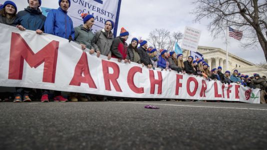 Trump, Unlikely Champion Of Anti-Abortion Rights Movement, To Address March For Life