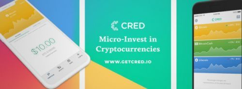 Cred app lets you 'micro-invest' in cryptocurrencies