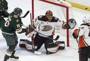 Miller earns shutout as Ducks blank Wild, 4-0