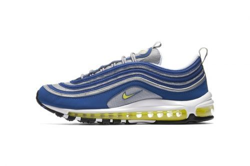 "Nike's Air Max 97 ""Atlantic Blue"" Has Officially Returned"