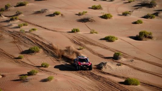 A Hydrogen-Powered Car Will To Compete In The Dakar Rally In 2024