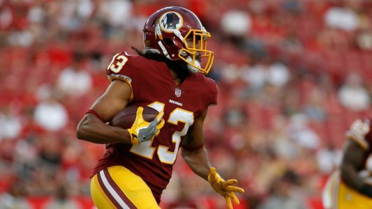 Redskins' Maurice Harris submits catch of the year bid against Vikings