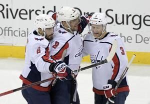 700 club: Capitals' Alex Ovechkin scores for milestone goal