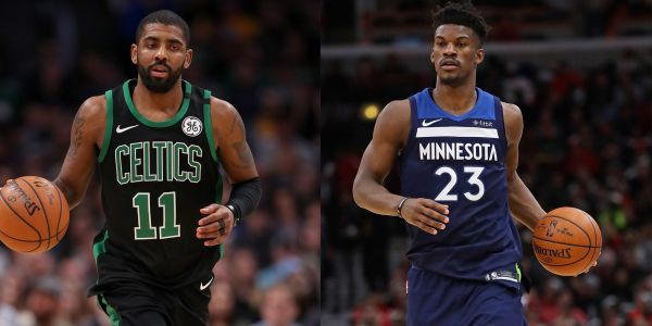 There is growing buzz that Kyrie Irving and Jimmy Butler could form the NBA's next superstar pairing - and the Knicks and the Nets are involved