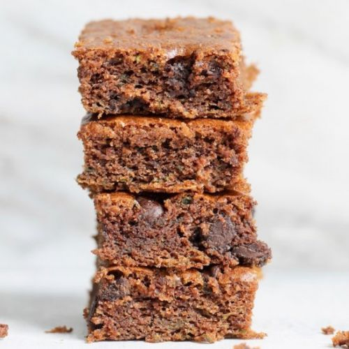 Almond Butter Zucchini Bars