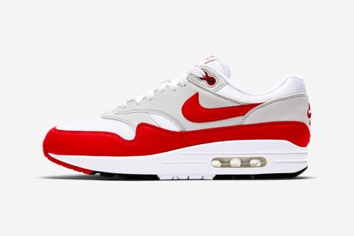 "Nike Is Restocking the Air Max 1 Anniversary in OG ""University Red"""