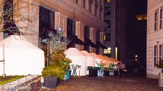 DC Outdoor Dining: Igloo, Yurt, or Chalet