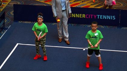 Legendary Tennis Coach Nick Bollettieri Helping Bring The Game To Minneapolis's Inner City