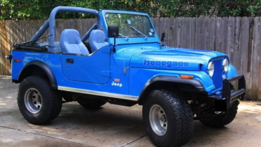 """At $9,500, Could This 1976 Jeep CJ7 """"Levi's Edition"""" Be Your Blue Jean Queen?"""
