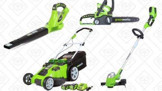 Go Electric For Your Spring Yard Work With This GreenWorks Gold Box