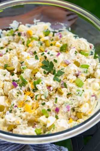 Potato Salad {The Best! Creamy and Delicious}