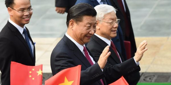 China and Vietnam agree to 'maintain peace and stability' in disputed South China Sea