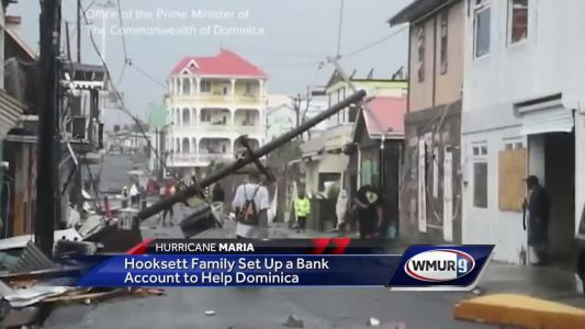 Hooksett family creates bank account to help Dominica