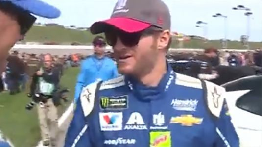 Dale Earnhardt Jr. crashes on snowy North Carolina road, gives advice to drivers