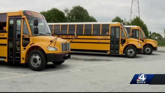Greenville County gets some new school buses, needs many more