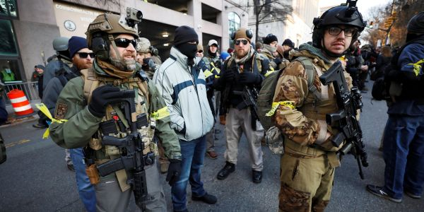 Virginia officials upped security for a pro-gun rally in Richmond after receiving 'credible threats of violence'