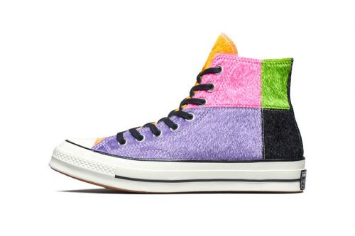 The Converse Chuck Taylor Receives A Furry Multicolor Makeover