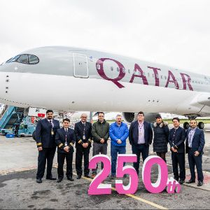Qatar Airways Reaches Significant Milestone with Delivery of 250th Aircraft