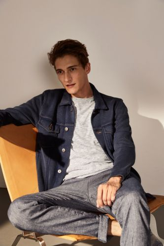 Matvey Lykov Sports Smart Casual Style for Marc O'Polo